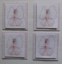 PK 4 PRETTY BABY FAIRY EMBELLISHMENT TOPPERS 4  CARDS