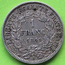 FRANCE 1 FRANC CERES 1849 A