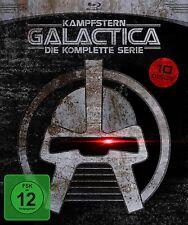 KAMPFSTERN GALACTICA, Die komplette Serie (9 Blu-ray Discs + Bonus-DVD) NEU+OVP