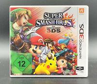 """NINTENDO 3DS SPIEL """" SUPER SMASH BROS. """" Deutsche Kaufversion """""""