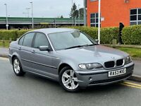 E46 2003 53 BMW 3 SERIES 320D SE 2.0 DIESEL 4 DOOR SALOON 150 BHP 50 MPG BARGAIN