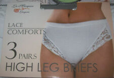Cotton Patternless Mid Rise Regular Size Knickers for Women