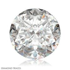 2.11ct F-SI1 Ideal Cut Round Brilliant AGI 100% Genuine Diamond 8.07x8.10x5.11mm