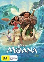 Disney Moana DVD Region 4 NEW