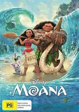 Moana (DVD, 2017) Brand New Sealed Region 4