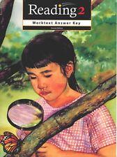BJU Reading 2 Worktext Teacher's Edition Answer Key  Second Edition - 2nd Grade