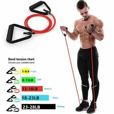 Elastic Resistance Bands Gym Yoga Pull Rope 120Cm Band Fitness Workout Exercise