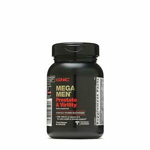 GNC Mega Men Prostate & Virility Dietary Supplement, 1 PACK