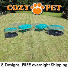 Cozy Pet Rabbit Run Play Pen Guinea Pig Dog Playpen Chicken Puppy Cage Hutch