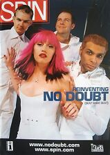 "No Doubt ""Group On Cover Of 2000 Spin Magazine"" U.S. Promo Poster - Gwen Stefani"