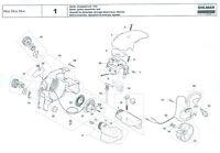 Luftfilter Nylon Original Ersatzteil Dolmar Kompaktsäge PS 340
