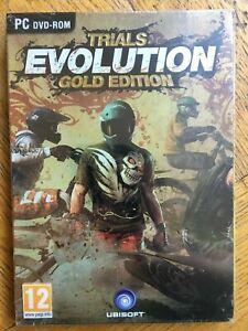 Trials Evolution Gold Edition inc Soundtrack - PC UK Version Sealed!