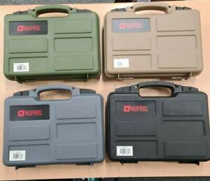 Nuprol Hard Case for Pistol / Air Pistol - Pick & Pluck Foam 4 Colours NHC 06
