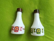 Bouteilles Huile et vinaigre MOBIL - Vintage - Arcopal