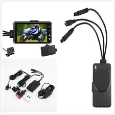 "3"" LCD 140° Motorcycle Car Biker Dual Action Camera Video Recorder Waterproof x1"
