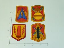 US Army Artillery color Patch lot of 4