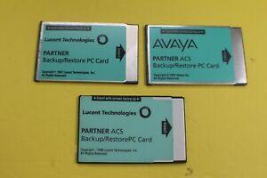 AVAYA/LUCENT Partner ACS 12A1 / 107932071 Backup/Restore PC Card