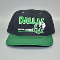 Dallas Mavericks NBA Twins Enterprise Vintage 90's Adjustable Snapback Cap Hat
