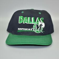 Dallas Mavericks NBA Twins Enterprise Vintage 90's Adjustable Snapback Cap Hat