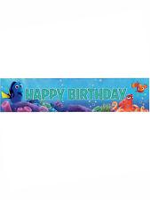 9ft trovare rombo giallo Nemo Festa Di Compleanno Buon Compleanno FOIL Banner Decorazione