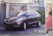 NEW GM DEALERSHIP 2015 BUICK  ENCLAVE   AUTO POSTER OR VEHICLE PORTRAIT