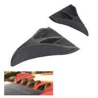 Shark Fin Diffuser Vortex Generator For Mazda Subaru Roof Spoiler Bumper SE  CA