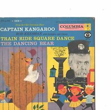CAPTAIN KANGAROO CHILDREN'S PICTURE SLEEVE ONLY---(DANCING BEAR)--PS--PIC--SLV