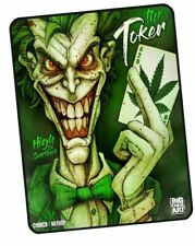 New The Toker 420 Pot Leaf Fleece Gift Throw Blanket Joker Smoke Weed Marijuana