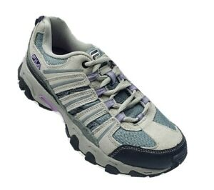 FILA Womens Sz 7.5 Hiking Running Walking Athletic Lace up Sneaker Shoes NEW #K1