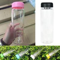 Portable Lemon Juice Water Cup Transparent Sports Travel Drink Bottle 500ML PK