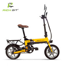 "RICHBIT TOP-619 14"" Bicicleta Eléctrica Plegable 36V 250W 10ah Batería de Litio"