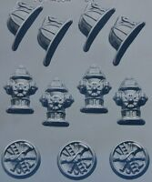 FIREMAN ASSORTED BITE SIZE CHOCOLATE CHOCOLATE CANDY MOLD MOLDS PARTY FAVORS