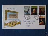 First Day Cover - British Paintings - Double Stamped - 4/7/73 Shildon, Co.Durham
