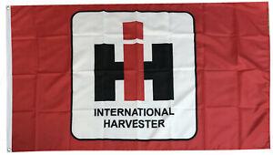INTERNATIONAL HARVESTER flag red 3x5ft banner US SELLER