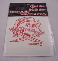 Dead men tell no tales Disney pirate sword car decal sticker pirates Disneyland