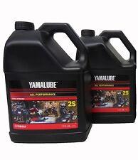 Yamalube 2S 2-S 2-Stroke Engine Oil OEM Yamaha 2 Gallons ATV Motorcycle Scooter