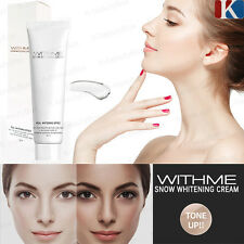 Real Whitening Effect!!! WITHME Snow Whitening Cream 50ml Face & Whole body