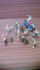 Group of knights toy figures
