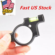 Hunting Metal Anti Cant Level Mount Spirit Bubble 30mm Ring Scope For Rifle Tube