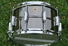 "LUDWIG USA 8"" or 8X14 BLACK BEAUTY SNARE DRUM MODEL LB408! LOT #D702"