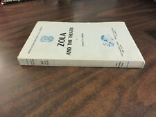 Zola and the Theater Lawson A Carter SIGNED Inscribed PPB 1963 FREE SHIP