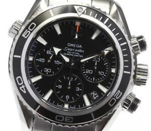 OMEGA Watch Seamaster Planet Ocean   Automatic St.Steel Chronograph   C5