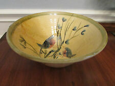 Sud & Co Cassis en Provence Large Hand Painted Round Bowl