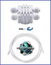 Abschaltautomatik Vierwegeventil + 10m Osmose Schlauch Osmoseanlage Wasserfilter
