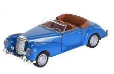 Tender Toys auto Druckguss Cabrio blau 12 cm