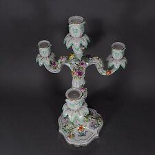 Meissen Kerzenleuchter Leuchter Kandelaber 42cm candelabra Candlestick porcelain