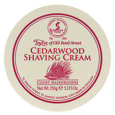 Taylor of Old Bond Street Cedarwood Shaving Cream 5.3 oz