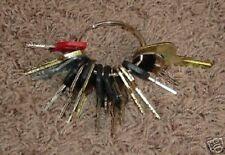 18 Keys Heavy Construction Equipment Key Set New