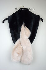 TED BAKER Avril Two tone Faux Fur Scarf