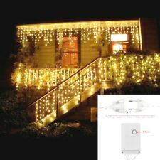 5M Christmas Outdoor LED Curtain Garland String Light  0.4-0.6m Party Garden